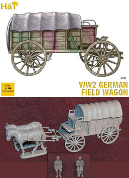 HÄT 8261 WWII GERMAN FIELD WAGON