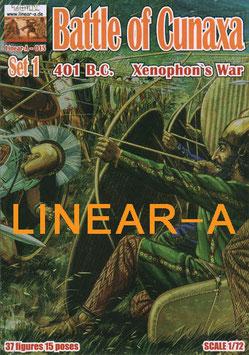LINEAR-A 015 Battle of Cunaxa 401 B.C. ( Xenophon`s War) Set 1