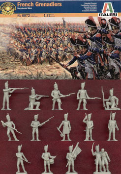 ITALERI 6072 FRENCH GRENADIERS
