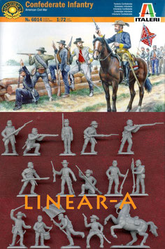 ITALERI 6014 Confederate Troops