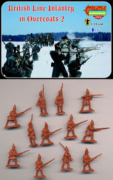 STRELETS M097 BRITISH LINE INFANTRY IN OVERCOATS SET 2
