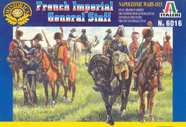 ITALERI 6016 Napoleonic French Imperial General Staff - Secondhand