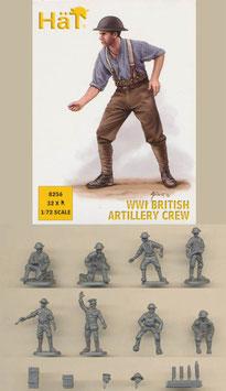 HÄT 8256 WWI BRITISH ARTILLERY CREW