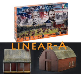 ITALERI 6179 Farmhouse Battle Set Civil War