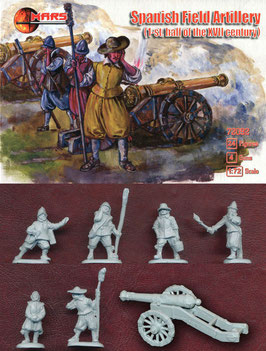 MARS  72092 SPANISH FIELD ARTILLERY 17th Century