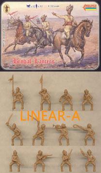 Strelets 057 Bengal Lancers