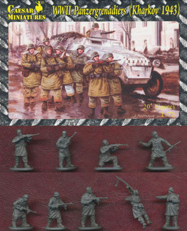 CAESAR HB01 WWII PANZERGRENADIERS KHARKOV 1943