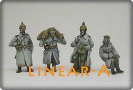munich-Kits FHEW08 WWI Deutsche Trainsoldaten in Russland