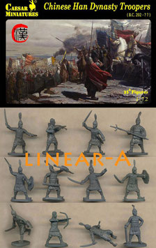 CAESAR H043 CHINESE HAN DYNASTY TROOPERS