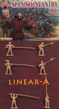REDBOX 72098 SPANISH INFANTRY PIKE (16th Century) Set 3