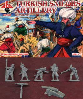 REDBOX 72080 TURKISH SAILORS ARTILLERY 16-17th Century