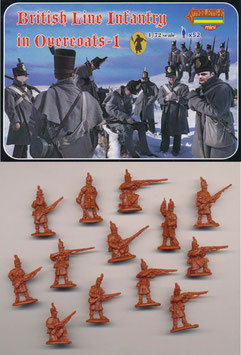 STRELETS M094 BRITISH LINE INFANTRY IN OVERCOATS SET 1