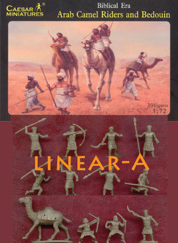 CAESAR H023 ARAB CAMEL RIDERS AND BEDOUIN