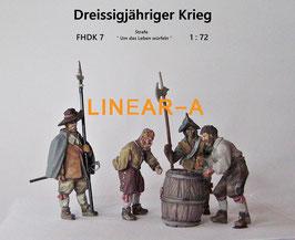 "munich-Kits FHDK07 Dreißigjähriger Krieg ""Um das Leben würfeln"" Set 7"