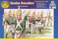 ITALERI 6006 Napoleonic Russian Grenadiers - Secondhand