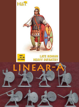 HÄT 8087 LATE ROMAN HEAVY INFANTRY