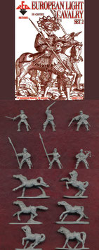 REDBOX 72085 EUROPEAN LIGHT CAVALRY 16th Century SET 2