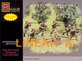 PEGASUS 7498 WWII RUSSIAN INFANTRY