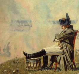 linear-b 02n Napoleon in Borodino aus Zinn