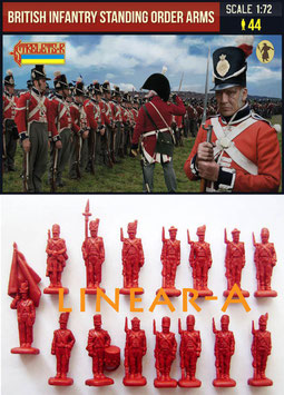 STRELETS 201 British Infantry Standing Order Arms