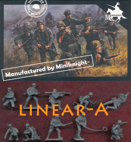 CAESAR HB08 WWII GERMANS ARMY (STURMPIONIER TEAM)
