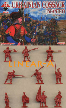 REDBOX 72114 Ukrainian Cossack Infantry 16. Cent. Set 1