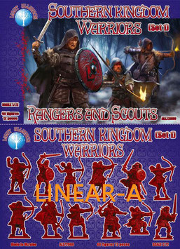 """DARK ALLIANCE ALL 72060 Southern kingdom Warriors. Set 1 """"Rangers and Scouts"""""""