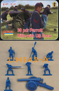 STRELETS 182  30 pdr Parrott Rifle with US crew