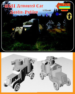 STRELETS A011 WWI ARMOURED CAR AUSTIN-PUTILOV
