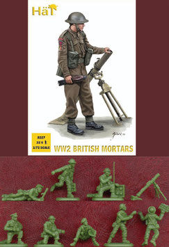 HÄT 8227 WWII BRITISH MORTARS