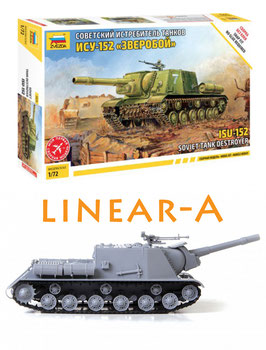 ZVEZDA 5026 SOVIET SELF PROPELLED GUN ISU-152
