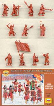 ZVEZDA 8040 RUSSIAN STRELETS XVI-XVII A.D.