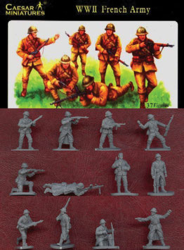 CAESAR H038 WWII FRENCH ARMY
