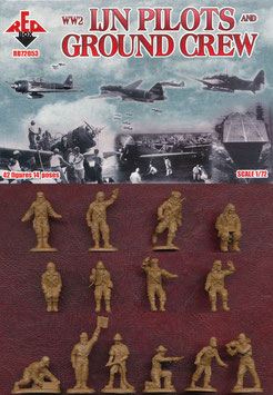 REDBOX 72053 WWII IJN Pilots and Ground Crew