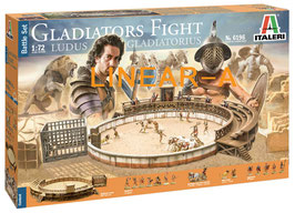 ITALERI 6196 GLADIATORS FIGHT LUDUS GLADIATORIUS