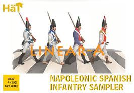HÄT 8330 NAPOLEONIC SPANISH Infantry Sampler