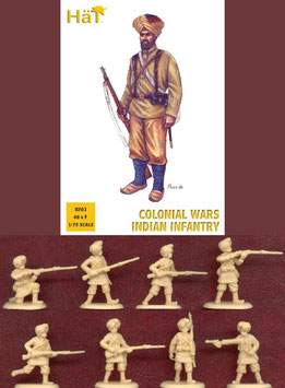 HÄT 8203 Colonial Wars Indian Infantry