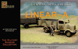 PEGASUS PH7610 WWII GERMAN ARMY TRUCK