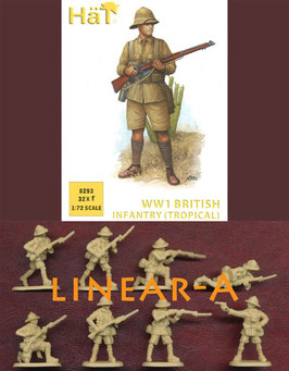 HÄT 8293 WWI British Infantry (Tropical)