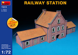 MINIART 72015  RAILWAY STATION 1:72