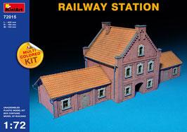 MINIART 72015  RAILWAY STATION 1:72