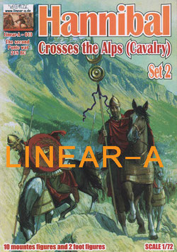 "LINEAR-A 013 Hannibal Crosses the Alps ""CAVALRY"" Set 2"