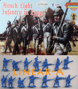 STRELETS M069 NAPOLEONIC FRENCH LIGHT INFANTRY IN EGYPT