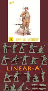 HÄT 8112 WWI US Infantry