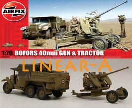 AIRFIX A02314 BOFORS GUN AND TRACTOR 1:76