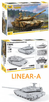 ZVEZDA 5065 T-90MS Russian Main Battle Tank