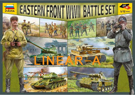 ZVEZDA 5203 EASTERN FRONT WWII BATTLE SET
