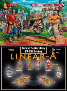 MARS 72103 TURKISH FIELD ARTILLERY 16-17th CENTURY