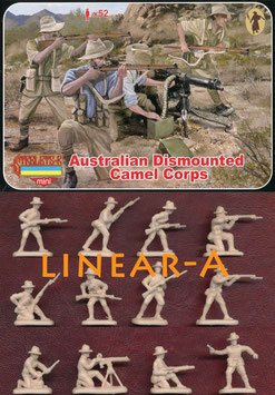 STRELETS M131 Australian Camel Corps Dismounted