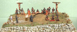Phersu ACFC - Ancient Crucifixion Figures Complete scenery